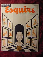 ESQUIRE January 1954 Jan 54 ERNEST CHIRIAKA CALENDAR GIRLS COLETTE MARCHAND