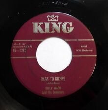 JACKIE WILSON & Dominó 45 Rags To Riches/Don't Thank Me KING CD Música bb2846