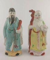 PAIR of VINTAGE Chinese PORCELAIN FIGURES Figurines