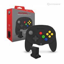"Black ""Admiral"" Premium BT Controller for Nintendo N64 or PC Via Blutooth"
