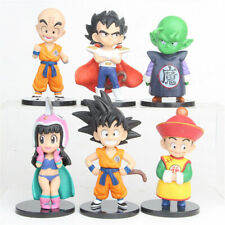 6PCS Dragon Ball Z Son Goku Vegeta Piccolo Kuririn Childhood Action Figure Toys