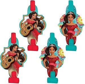 Elena of Avalor Disney Princess Kids Birthday Party Favor Horns Blowouts