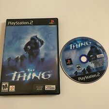 The Thing PS2 (Sony PlayStation 2, 2002) , Rare!