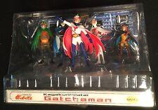 "Gatchaman 3"" figures Mark Jason Tiny Princess UNI-FIVE Battle of the Planets MIB"