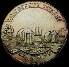 T353: 1795 High Grade & Rarer Conder Token : Suffolk (Lowestoft) 37