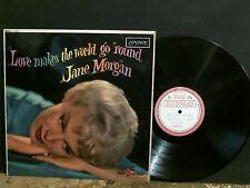JANE MORGAN  Love Makes The World  . .  LP   DEMO TEST PRESSING  RARE !!