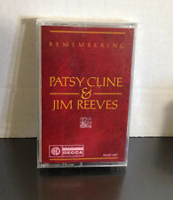 Remembering Patsy Cline & Jim Reeves Cassette Tape NEW