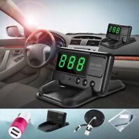 Auto KFZ Car HUD Head Up GPS Display Tachometer Geschwindigkeit Speed Warning DE