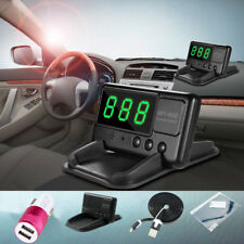 Universal GPS HUD Digital Head Up Display Car Speeding Warning Plug&Play Truck A