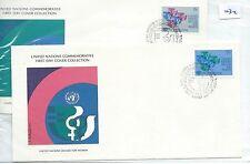 Recuento de leucocitos. - Naciones Unidas-First Day Covers Fdc - -032 - 1980-decenio para De mujer