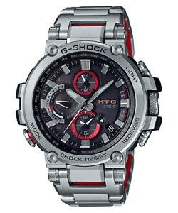 Casio G-Shock MTG Tough Solar Radio Bluetooth Full SS Watch - MTG-B1000D-1