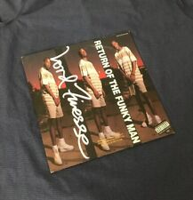 """Lord Finesse ***Return Of The Funky Man*** 1991 12"""" PROMO (Mint) 0-40277"""