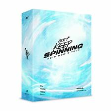 GOT7 2019 WORLD TOUR KEEP SPINNING IN SEOUL DVD Disc+Photobook+Photocard+Etc