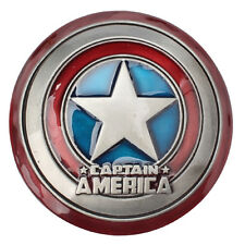 Retro Captain America Shield Metal Belt Buckle Marvel The Avengers Superhero