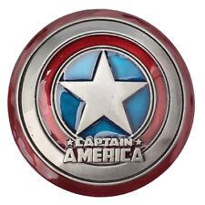 New Captain America Shield Metal Belt Buckle Marvel Avengers Superhero Men Movie