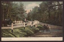 Hampshire. New Forest. Ivy Bridge. Brockenhurst - F.G.O.Stuart Postcard No: 1212