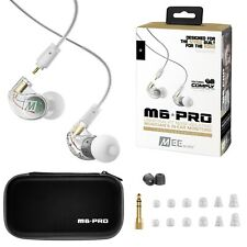 MEE Audio M6 Pro 2nd Generation Noise Isolating Musician's In-Ear Monitors Clear