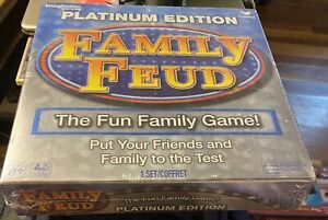 Family Feud Platinum Edition Family Fun Board Game