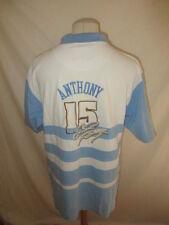 * Polo de basket vintage ANTHONY N° 15 Nuggets Denver NBA Bleu Taille XXL