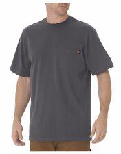 Dickies Mens WS450 Charcoal Short Sleeve Heavyweight Tee Crew Neck Shirts