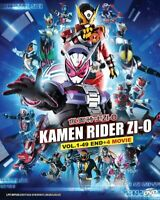 KAMEN RIDER ZI-O + 4 MOVIE - TV SERIES DVD (1-49 EPS + 4 MOVIE) (ENG SUB)