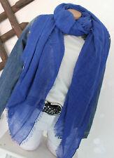 XXL Loop Damen Schal und Tuch Schlauchtuch in freaky Style Royalblau