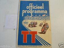 1964 DUTCH TT ASSEN PROGRAMME GRAND PRIX MOTO GP,RENNPROGRAMM,C