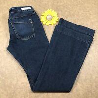 Express Womens Stella Flare Jeans Size 8 Stretch Blue Denim as757