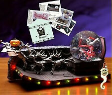 NIGHTMARE BEFORE CHRISTMAS  SNOWGLOBE - ART PACK & PIN