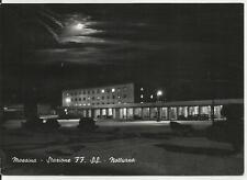 cartolina di messina stazione ferrovie dello stato di notte ferrovia perfetta