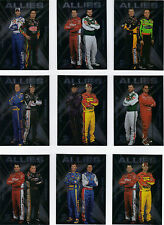 2010 Premium ALLIES Complete 10 card set BV$40!!! Johnson, Gordon, Jr., Stewart