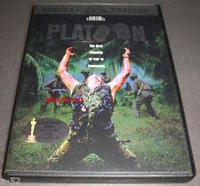 Platoon oliver stone Dvd tom berenger Charlie Sheen vietnam movie Willem Dafoe
