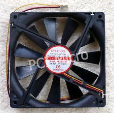 EverCool 140mm 1500prm Case Fan EC14025M12CA NEW