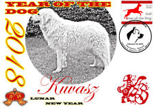 Kuvasz 2018 Year Of The Dog Stamp Souvenir Cover #2