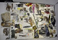 Huge Lot 100 Fly Tying Fishing Materials
