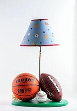 Sports Theme Lamp Mini Football Basketball Baseball Kids Molten Spalding Champro