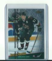 rare JEREMY ROENICK phoenix coyotes FINEST TOUCH CARD with protective film