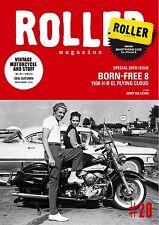 ROLLER MAGAZINE vol.20 Japanese book vintage motorcycle stuff  Harley-Davidson