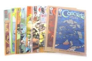 Lot of 9 Mint Dark Horse Comics Paul Chadwick's Concrete Collectors Collection