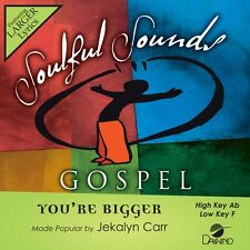 Jekalyn Carr - You're Bigger - Accompaniment CD New