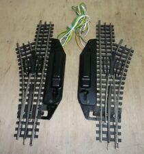 Trix Express 4361 4362 4363 elektrisches Weichenpaar rechts / links geprüft