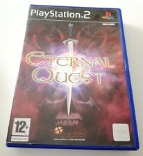 ETERNAL QUEST PLAYSTATION 2 PS2 OTTIMO COMPLETO SPED GRATIS SU + ACQUISTI!!!