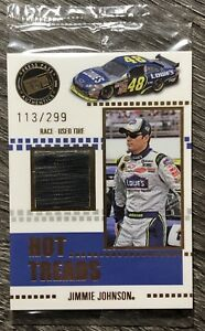 2008 Press Pass Gold #HT3 JIMMIE JOHNSON 🏁Race-Used Tire🏁 UNOPENED PACK #/299