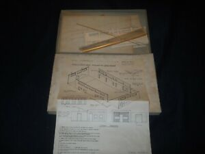 TT Scale Jewel Models Basic Store & Office Building Kit
