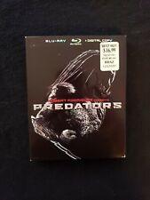 Predators Blu ray W/Slipcover No Digital Copy, Lot C3.