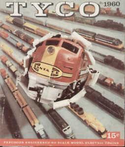 catalogo TYCO 1960  HO 1:87 made in USA by MANTUA      E       aa