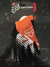 Fox Racing Airline KTM Gloves Adult MX ATV MOTOCROSS Vented KTM ORANGE FMX XL