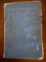 Vintage Dykes Automobile Encyclopedia 1923 Gasoline Engine very poor condition