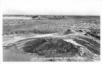 1940s Imperial California Mud Volcanoes Salton Sea Frasher RPPC postcard 858