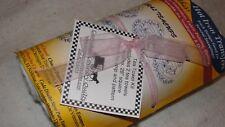 FLORAL TEACUPS Tea Towels Kit Aunt Martha's Hot Iron Transfers #3897